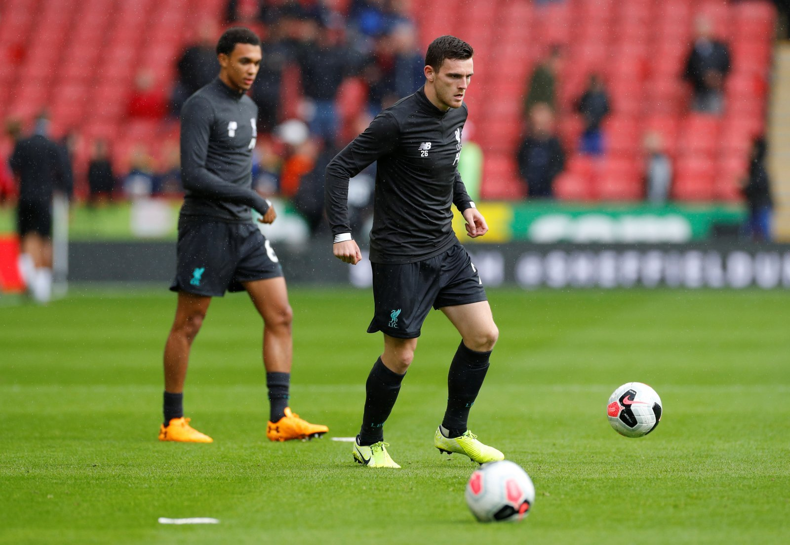 Liverpool: Fans revel in competitiveness between Trent Alexander-Arnold and Andy Robertson