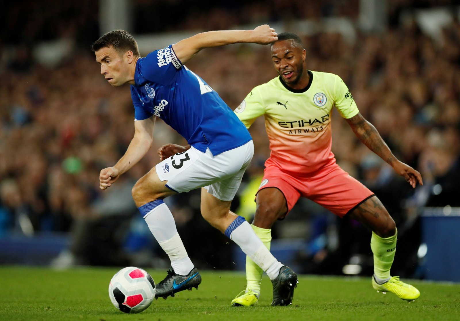 Everton: Fans praise classy gesture from Seamus Coleman after Tottenham stalemate