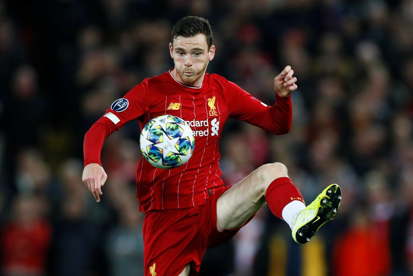 Liverpool: Fans loved Andy Robertson's joke about Alex Oxlade-Chamberlain