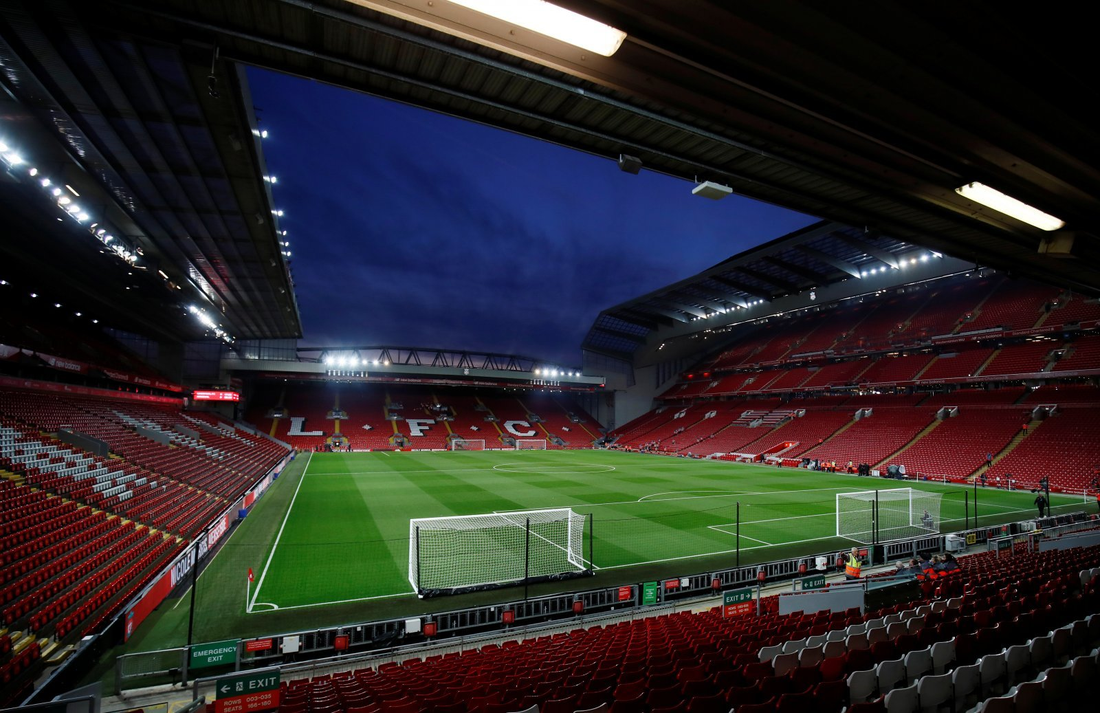 Liverpool: Fans pleased with the expansion of the Anfield Road Stand progressing