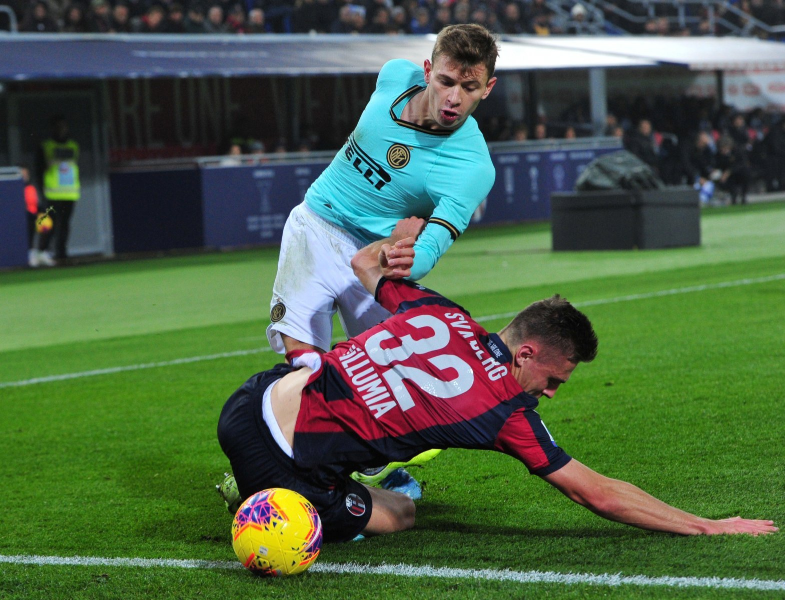 Unsung Hero: Inter Milan's Nicolo Barella gave a well-rounded performance against Bologna