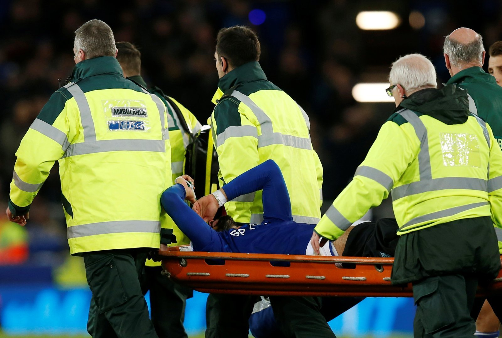 Everton: Fans come together to send their best wishes to Andre Gomes