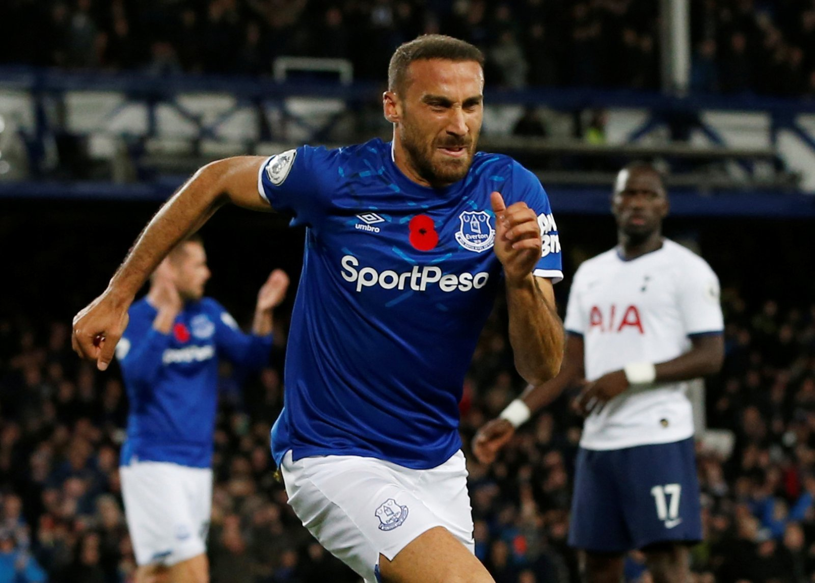 Everton: Fans shower Cenk Tosun with praise after late equaliser vs Spurs