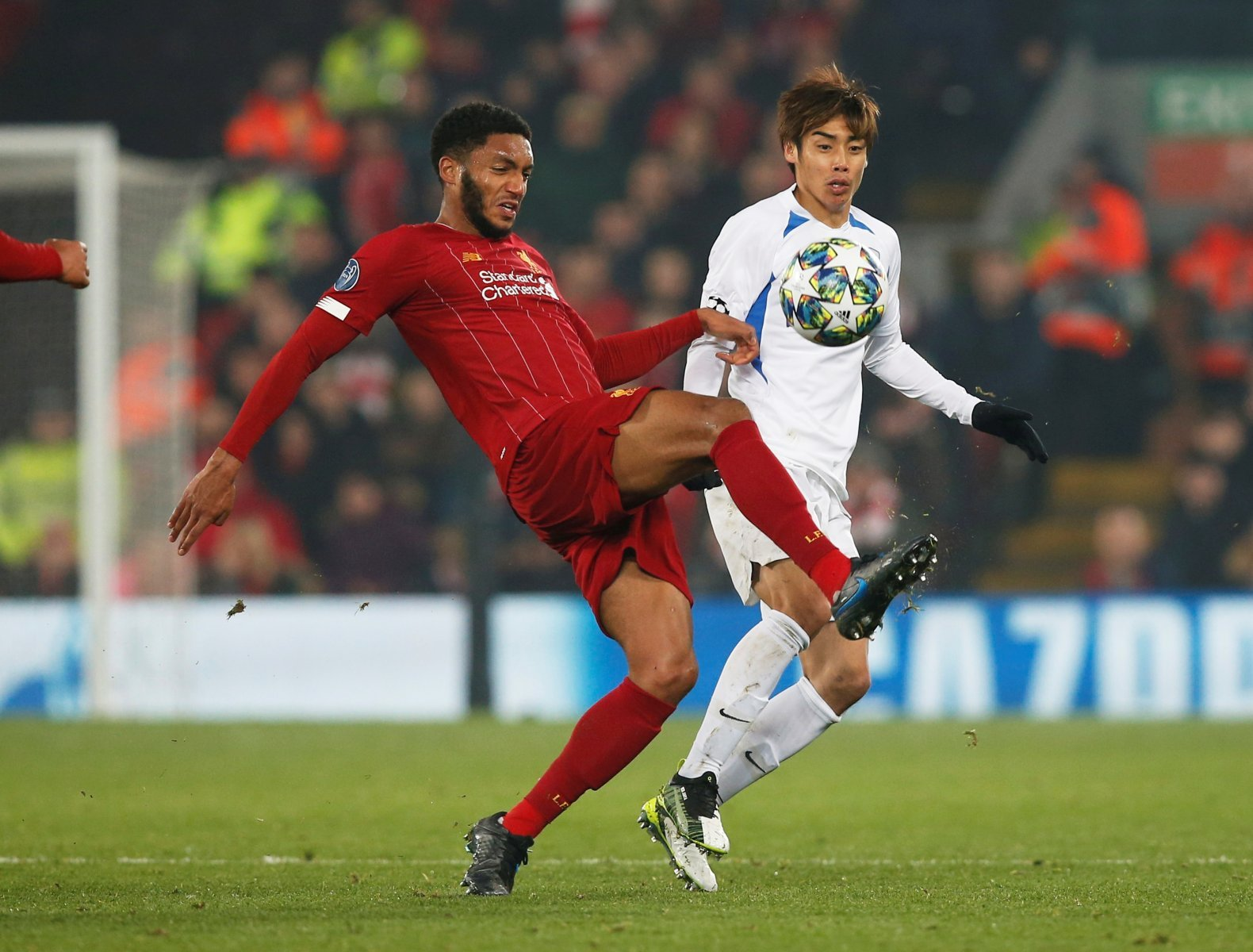 Liverpool: Fans criticise Joe Gomez after victory against Genk