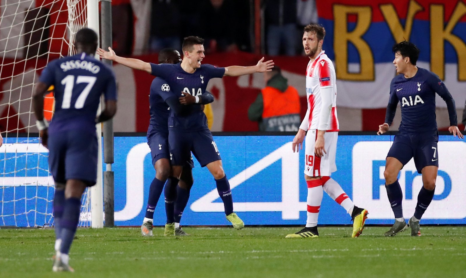 Tottenham: Some fans were amused by Giovani Lo Celso's first goal for club