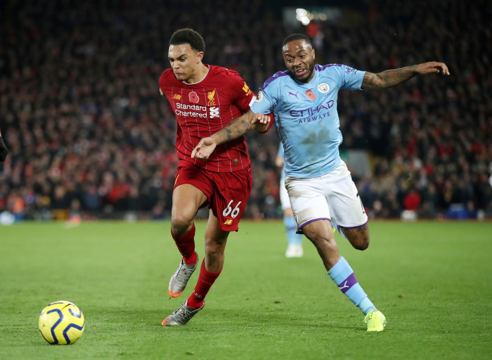 Liverpool: Fans stick by Trent Alexander-Arnold over 'handball' against Manchester City