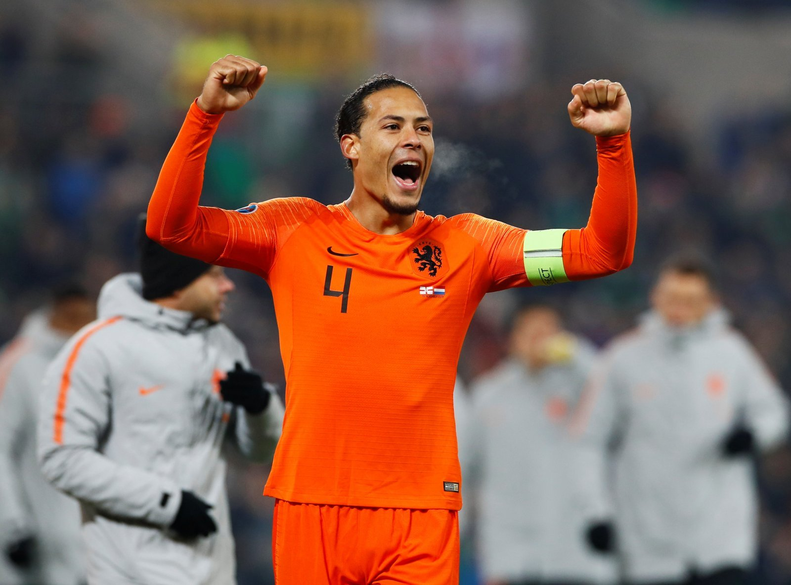 Liverpool: Fans pleased about Virgil van Dijk's withdrawal from Netherlands' squad