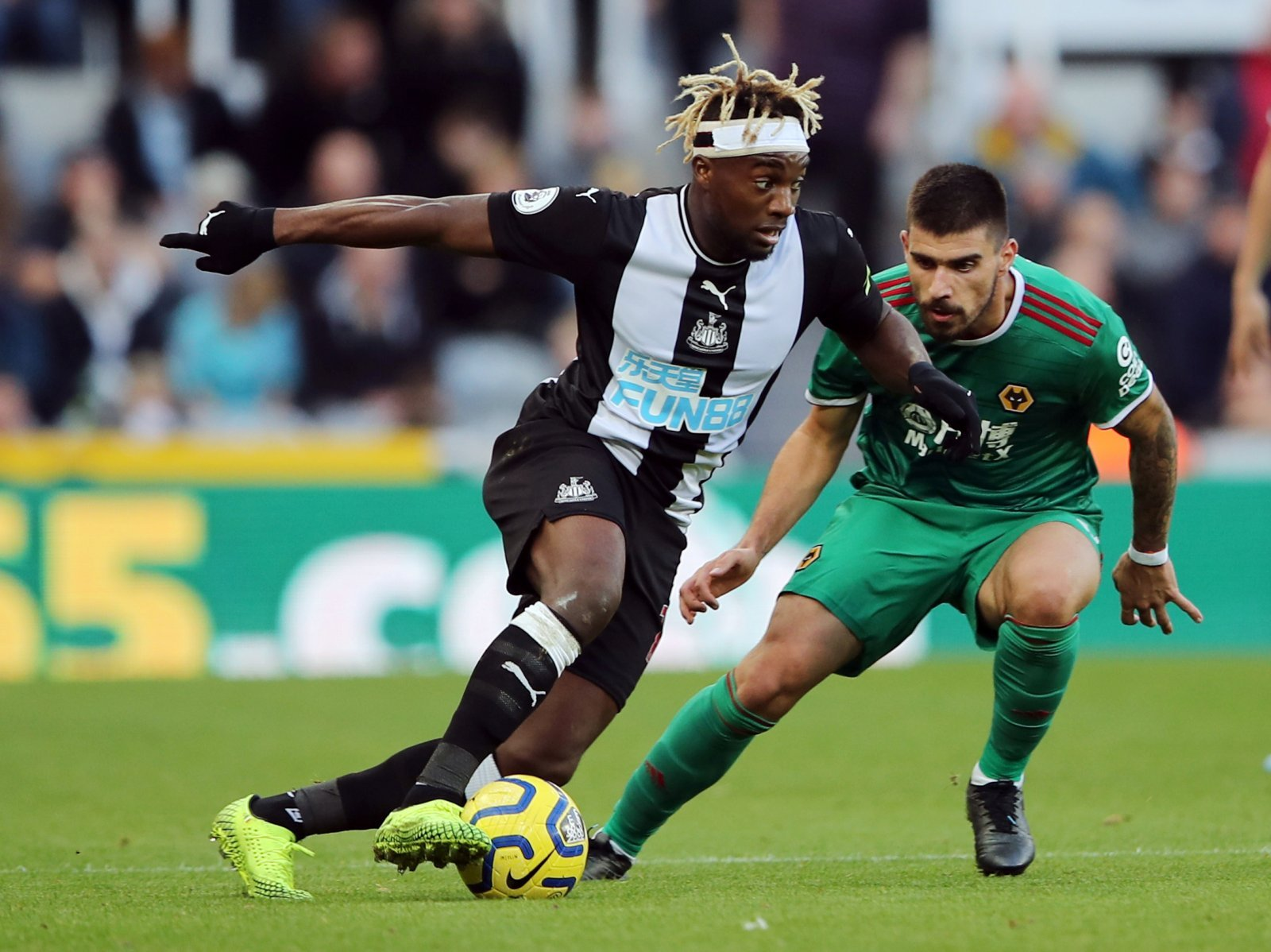 Newcastle United: Fans love Allan Saint-Maximin's dig at Sunderland