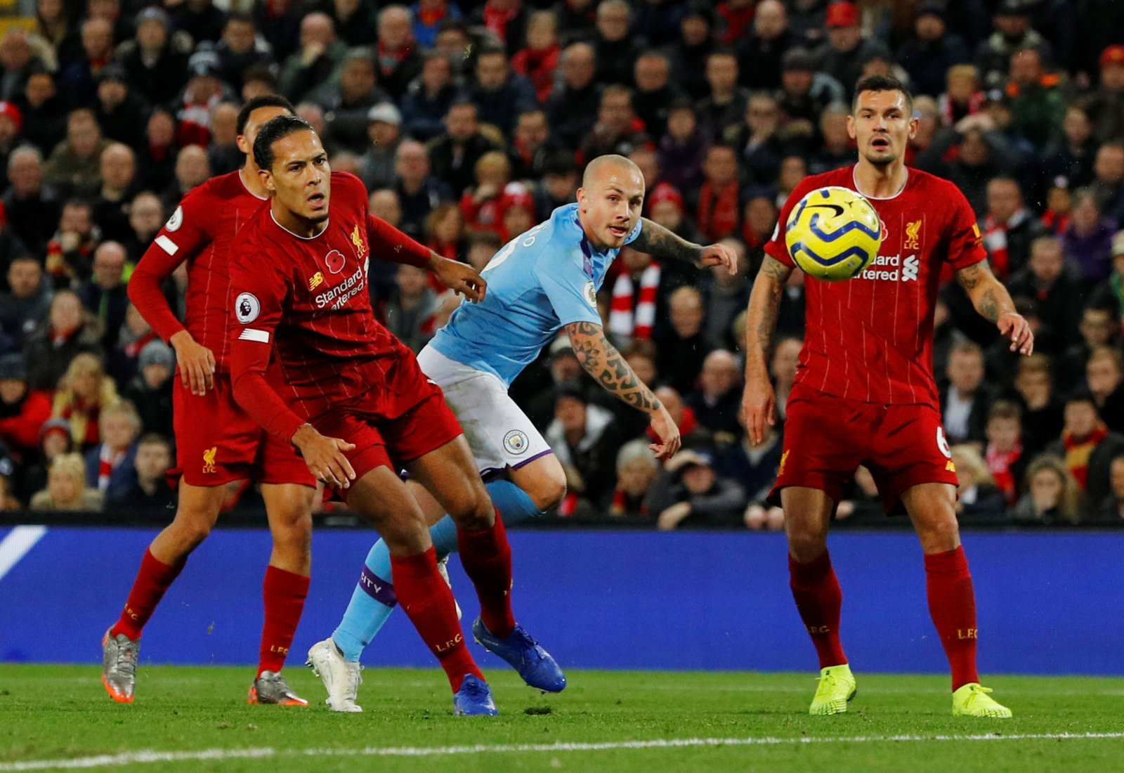 Manchester City: Fans divided over Angelino performance against Liverpool