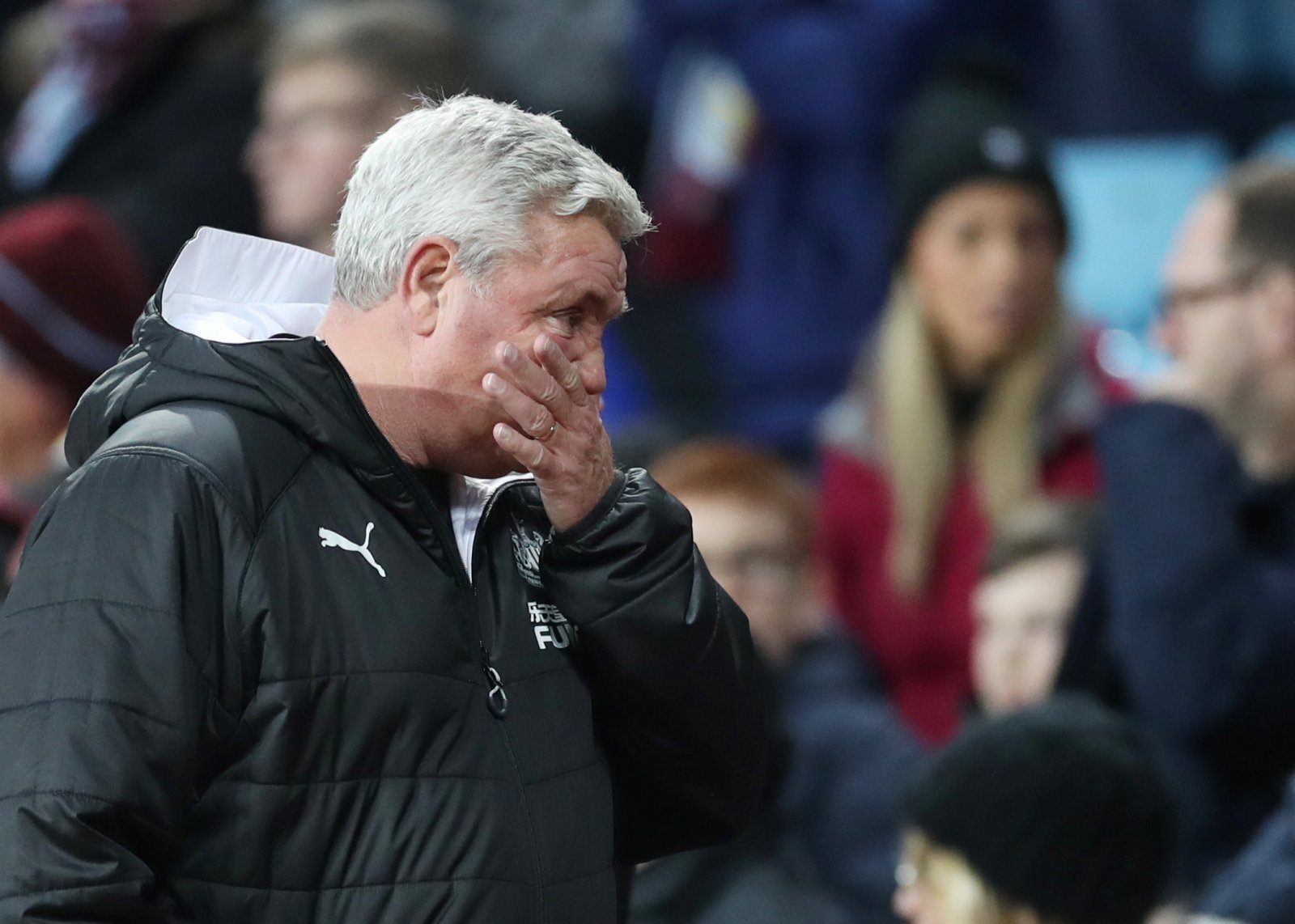 Newcastle United: Fans were calling for one change last night as Steve Bruce watched on