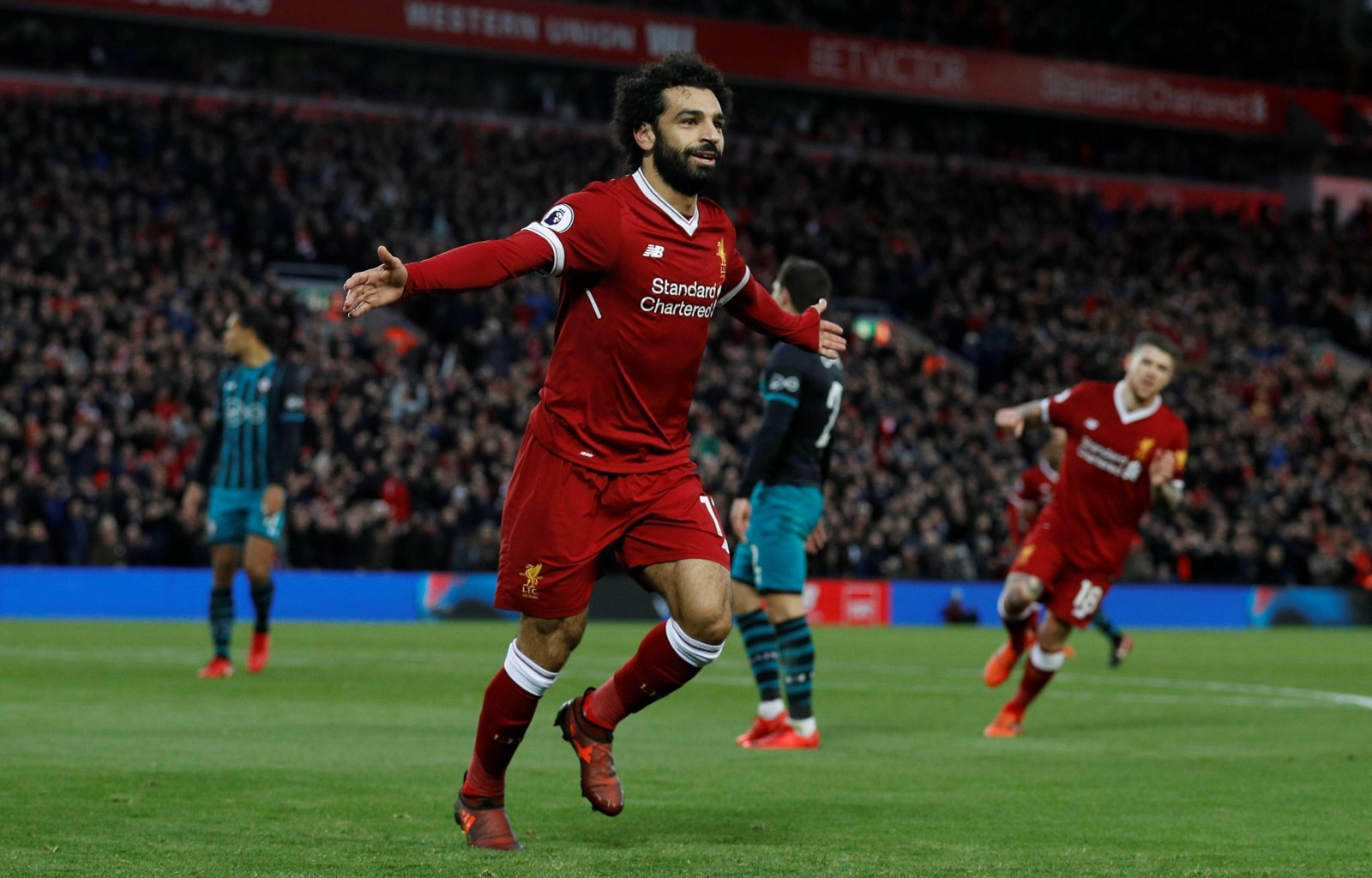 Liverpool: Fans admire Mohamed Salah's incredible scoring record vs Watford