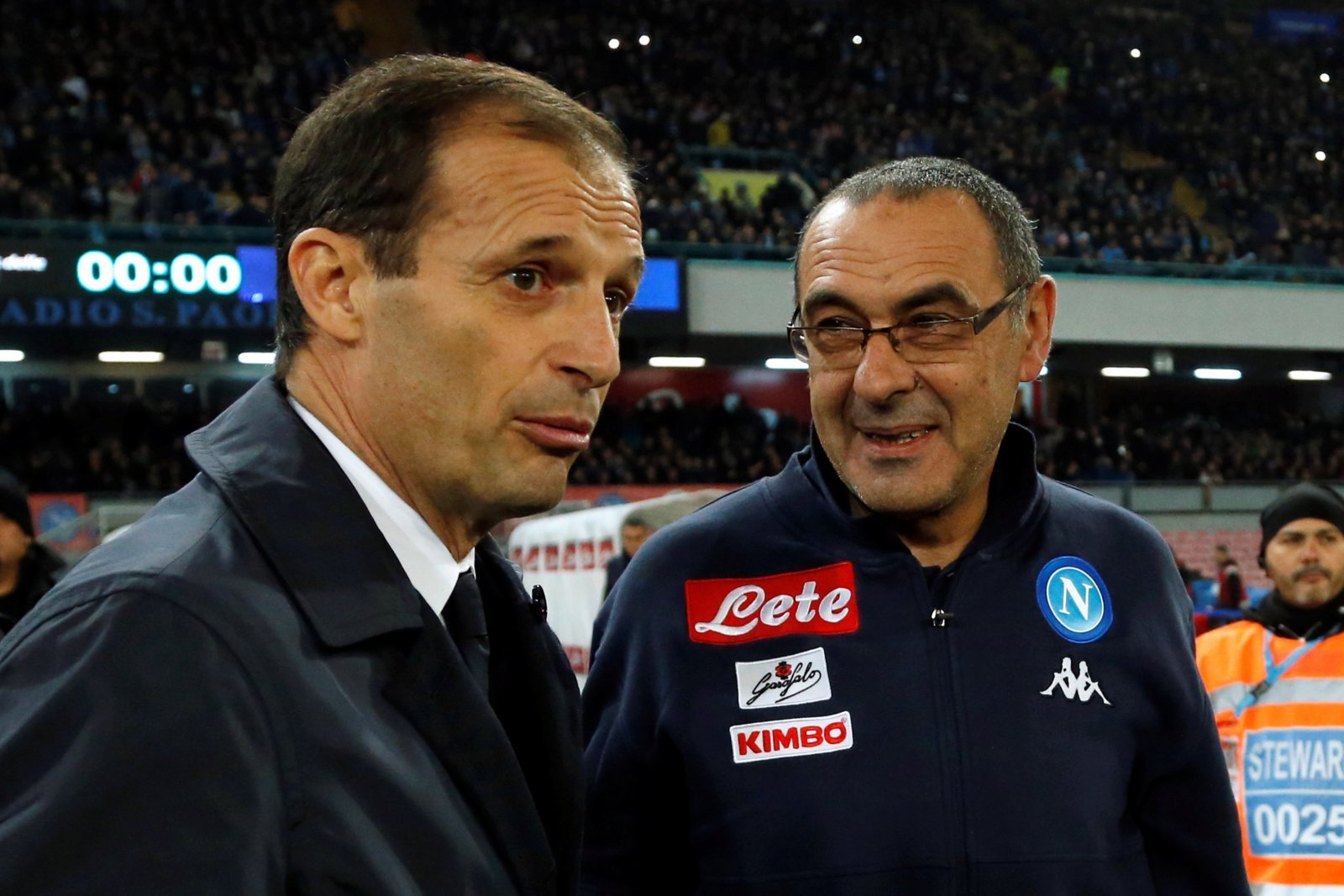 Juventus: Fans criticise Maurizio Sarri after he's seen spotted with Allegri