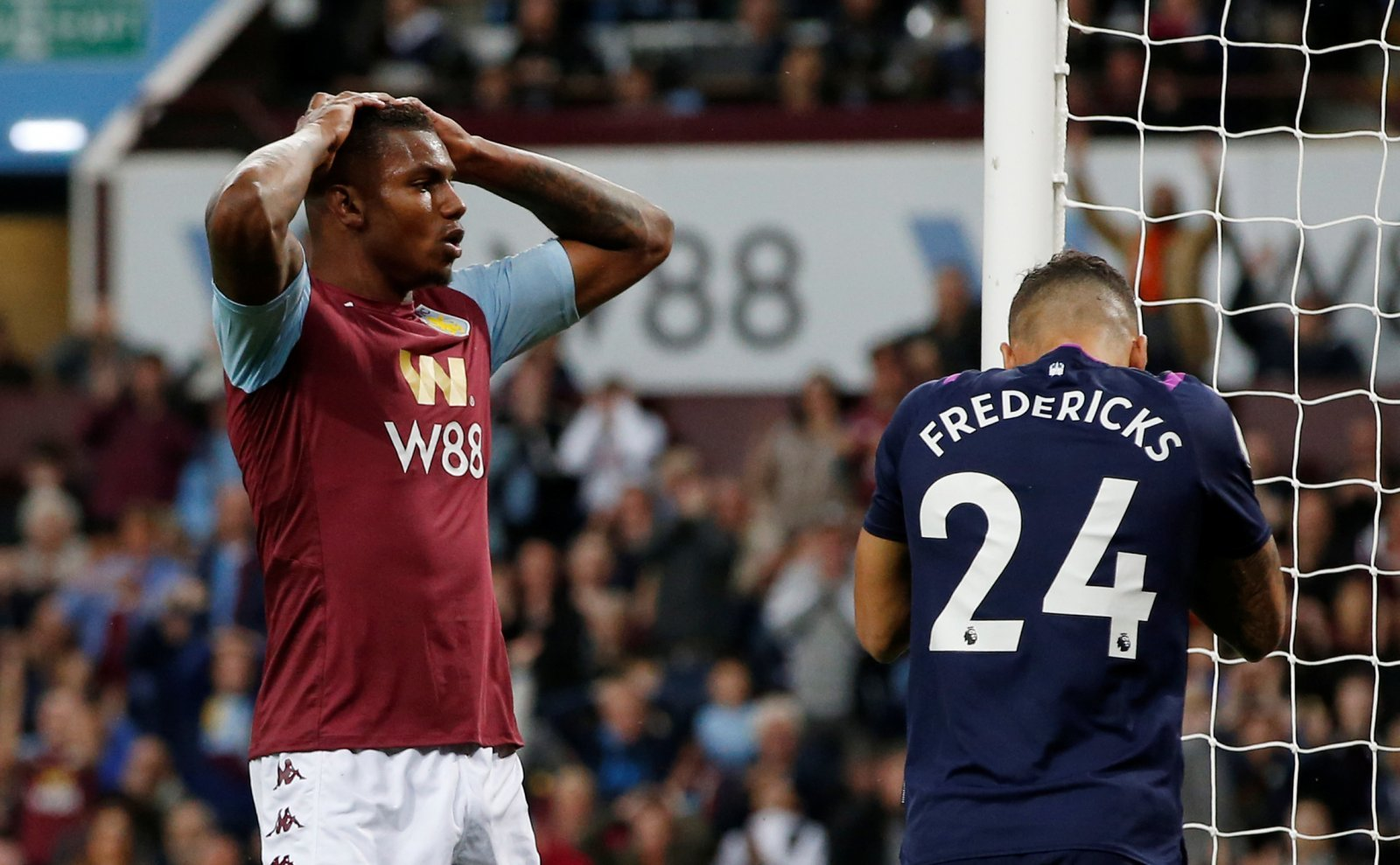 Aston Villa: Fans fume at Wesley performance against Leicester
