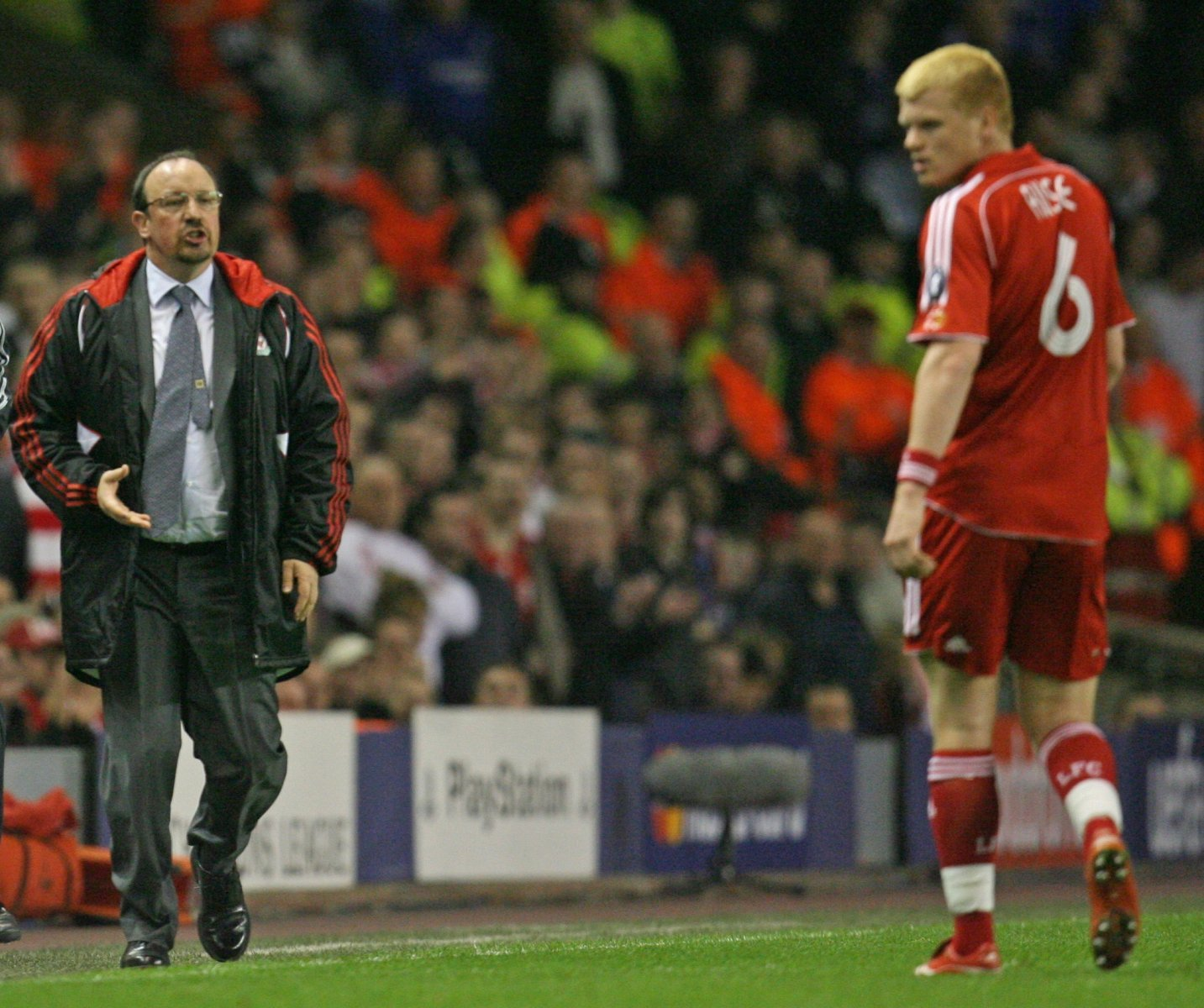 Liverpool: Fans applauded John Arne Riise's comments about Rafa Benitez