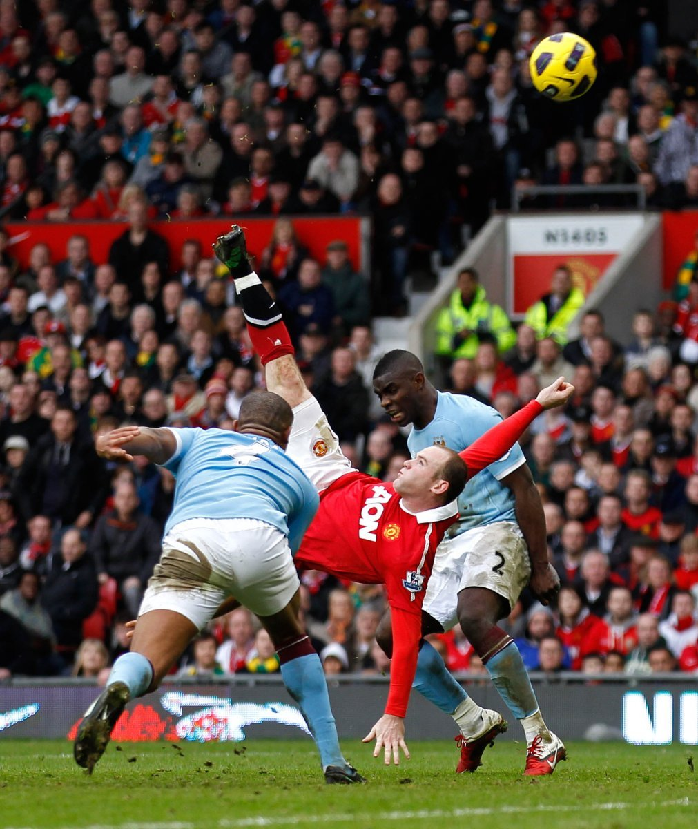 Manchester United: Fans look back at Wayne Rooney's goal against Manchester City