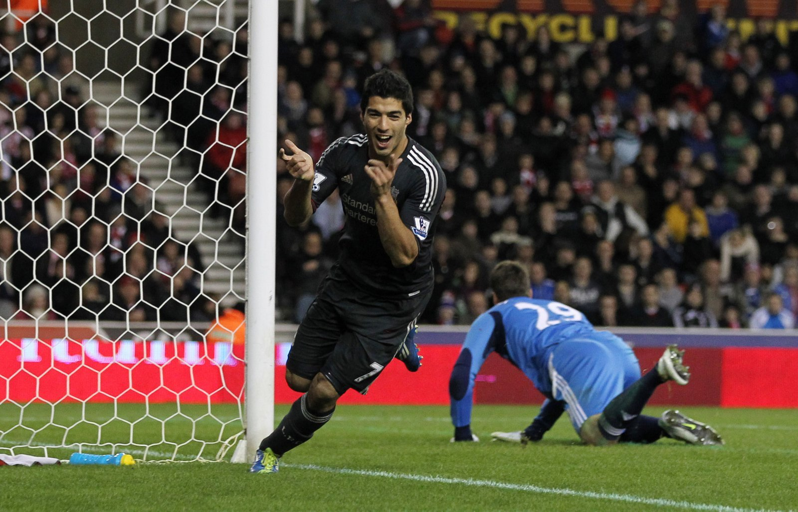 Liverpool: Fans believe Luis Suarez wins 2011's contender for Goal of the Decade contest