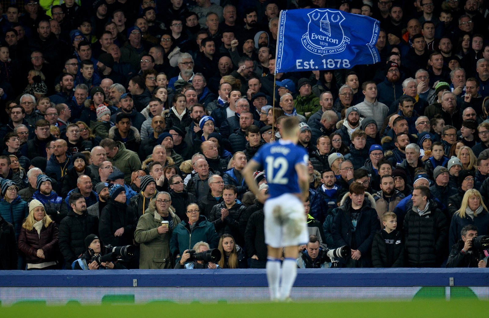 Everton: Fans mock Leicester City supporters' chant