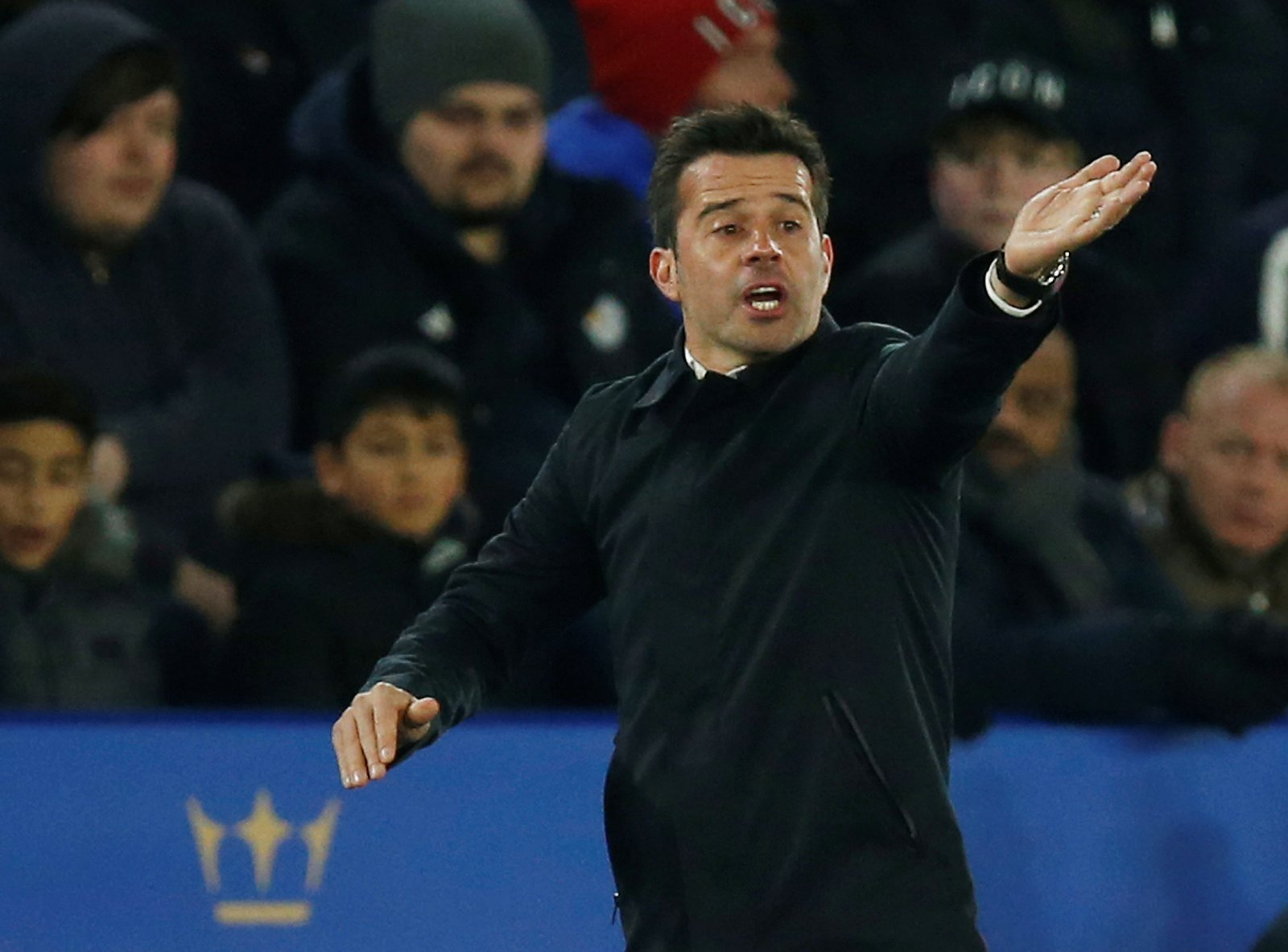 Everton: Fans unhappy about Marco Silva remaining as manager for Liverpool game