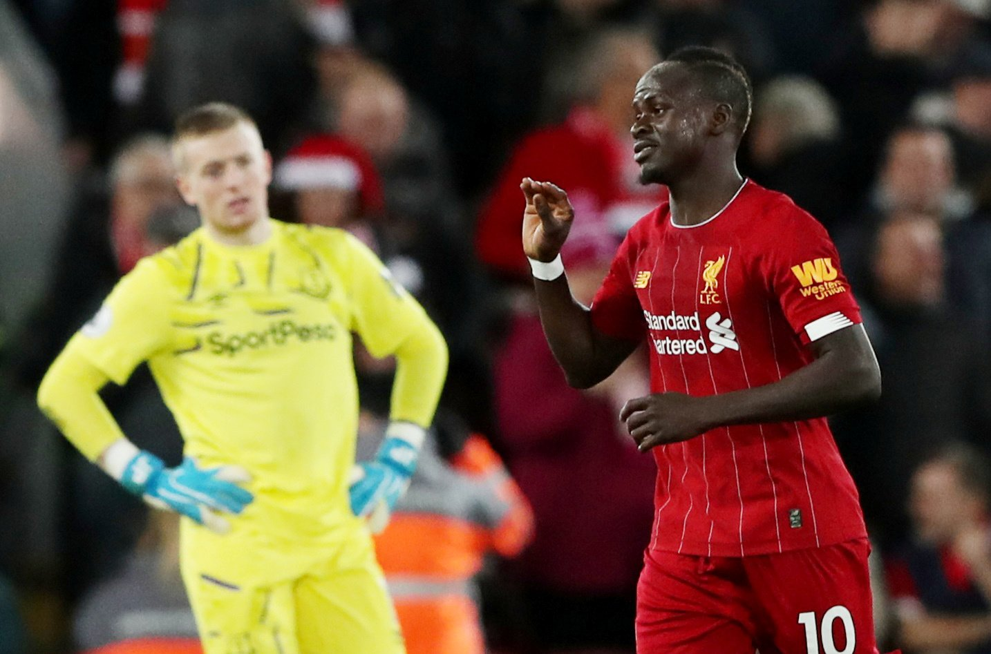 Liverpool: Fans laud Sadio Mane after his performance against Everton