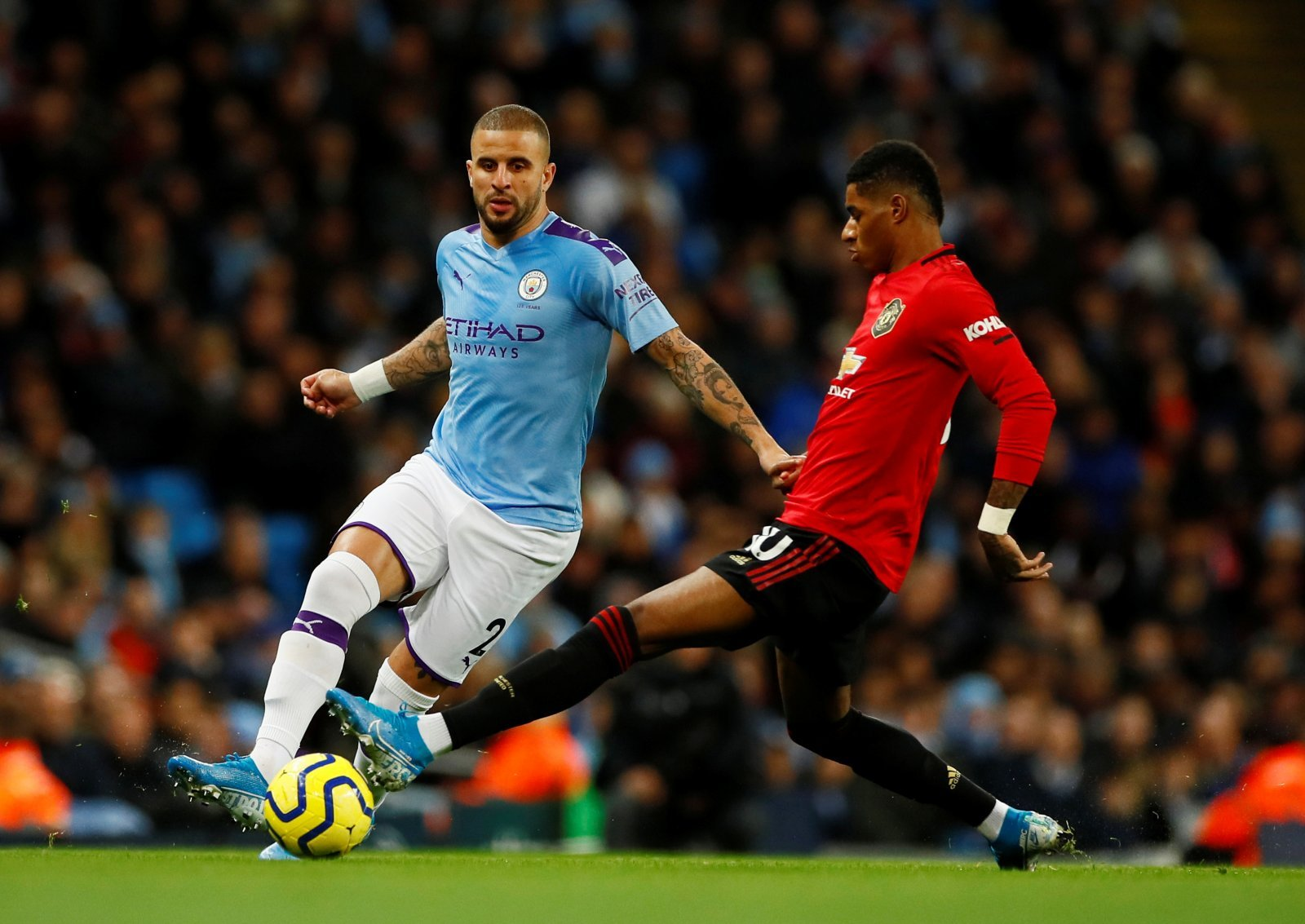 Manchester United: Fans believe Kyle Walker should have been sent off during Manchester City win
