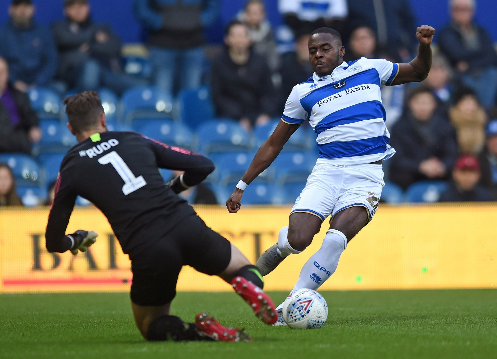 QPR: Fans were delighted with Bright Osayi-Samuel's performance against Preston North End