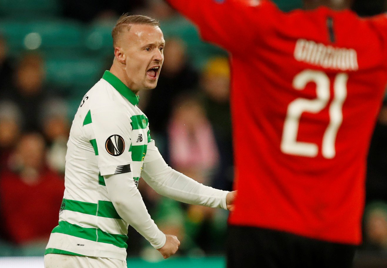 Celtic: Fans loved seeing Leigh Griffiths enter the fray against Hamilton