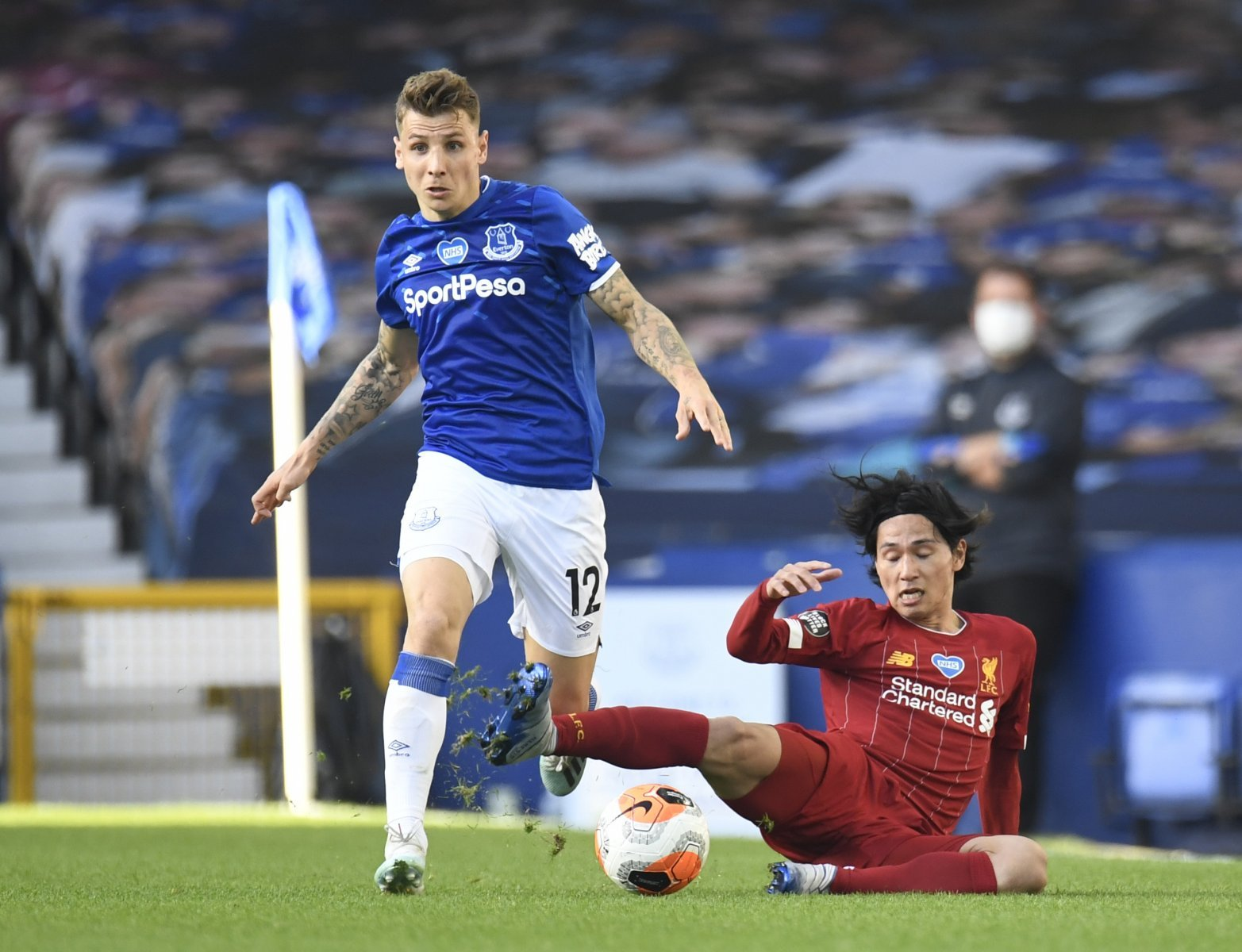 Everton Lucas Digne Was Toffees Unsung Hero Against Liverpool The Transfer Tavern