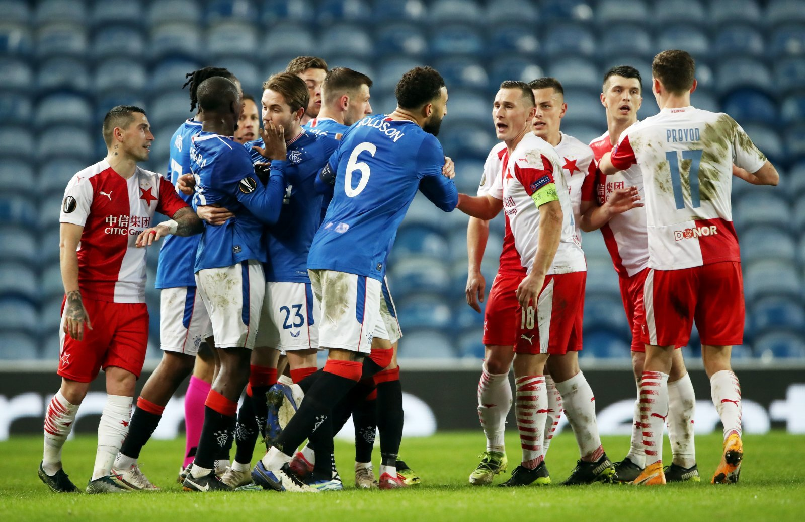 Slavia release statement after Gers match | The Transfer Tavern